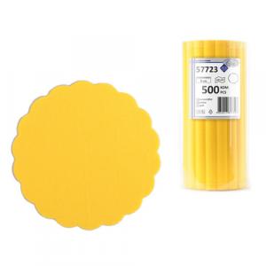 AIRLAID podmetači za šolje 500/1 žuta