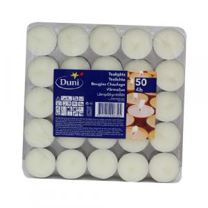"""DUNI """"Tealights"""" sveće 50/1"""