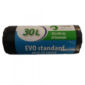 EVO STANDARD kese za smeće 30l
