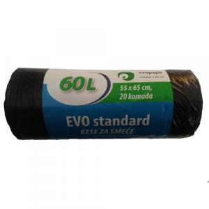 EVO STANDARD kese za smeće 60l