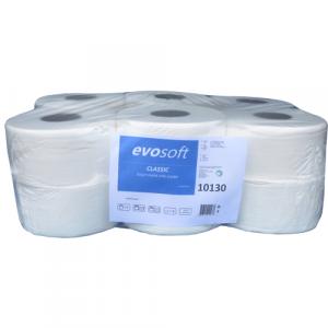 Toaletna rolna EVOSOFT Jumbo Mini 130m cell/recy